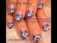LOVVVVE IT here is a design called delfts blauw and i dont know if i pronounced it co  rrectly and if i didnt, apologies, but it is a beautiful and clean dutch painting idea that looks very beautiful on nails and here is a very simple way to get the look and i hope you guys like it and try it! my love and respect! please share this video with whoever you thi...