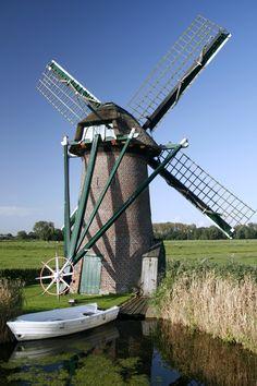 Knip Molen, Voorschoten, Zuid-Holland