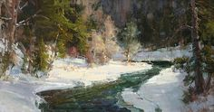 Colorado Winter by Kathryn Stats - Greenhouse Gallery of Fine Art