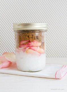 Coconut, Brown Sugar & Rose Body Scrub