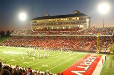 Liberty University Football Stadium.