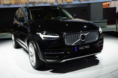 2018-2019 Volvo XC90 arrives at the Motor Show in Paris