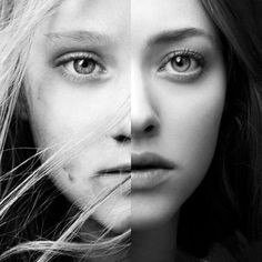 "Young VS Older Cosette from the movie adaptation of ""Les Miserables"""