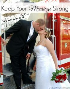 Here are some great tips for Keeping Your Marriage Strong! #marriage #relationships