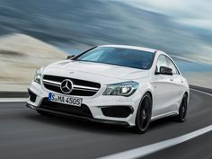 The Brand New 2014 Mercedes Benz CLA 45 AMG revealed!