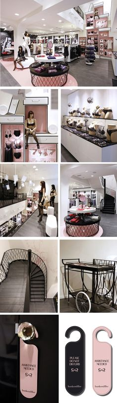 Hunkemöller Flagship Store Lingerie Store Design, Lingerie Stores, Retail Store Design, Retail Shop, Underwear Store, Boutique Interior, Store Fixtures, Display Design, Shop Interiors