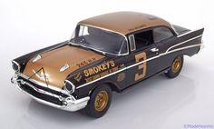 Chevrolet Bel Air Smokeys, Stock Car Daytona Beach 1957, No.3, Goldsmith. GMP/ACME, 1/18, No.A1807001, Limited Edition 930 pcs. 135 EUR