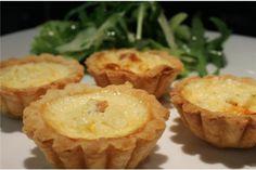 4 kicsi quiche lorraine Quiche Lorraine, Muffin, Pie, Breakfast, Food, France, Torte, Morning Coffee, Cake