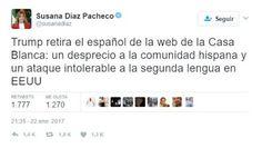 En DECDLT comentamos la actitud de la izquierda española con Trump, que calla ante la discriminación del español en Cataluña.