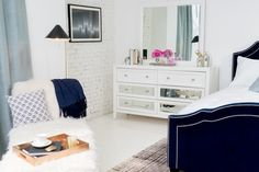 Bedroom From Scratch: Glam Getaway Inspiration — American Signature Furniture Bedroom Getaway
