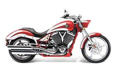 2012 Victory Motorcycles Vegas Jackpot® - Fireball Red w/ White Scallops starting at $19,999 Northway Sports East Bethel, MN (763) 413-8988