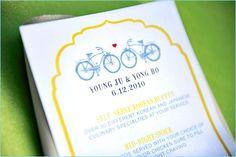 REAL WEDDINGS: Cheery Summer Bicycle {Part 1}
