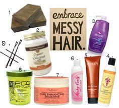 Natural Hair Products