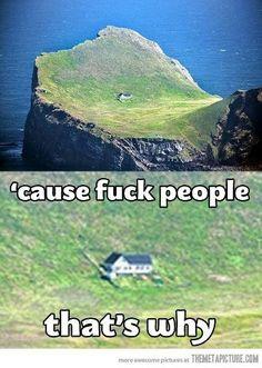 cuz fuck people