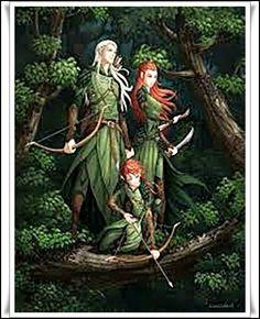 Las Revelaciones del Tarot: Aule, El Herrero de los Valar - Elfos