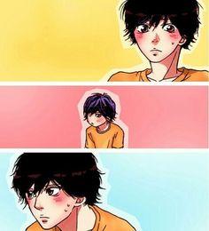 Anime Couples, Cute Couples, Ao Haru Ride Kou, Tanaka Kou, Mabuchi Kou, Blue Springs Ride, Cute Love Stories, Kirito, Manga Comics