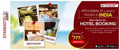 Book hotels in top destinations in India at the best prices at http://www.starihotels.com/ or Call: 91-93 5040 5040