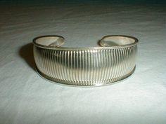 vintage taxco sterling silver cuff bracelet - Quality Vintage Jewelry