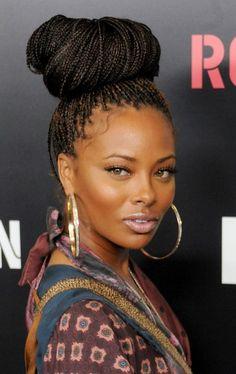 Los mejores peinados Box trenza para las mujeres negras //  #mejores #mujeres #negras #para #Peinados #trenza