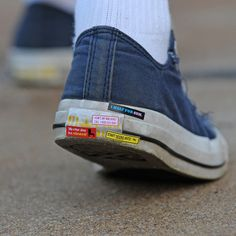 Shoe Bumper Stickers. Funny!