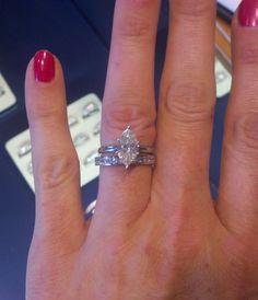 Marquise, Please! Post Yours! :-) : wedding carat engagement marquise ring solitaire