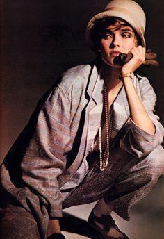 Evan-Picone, Mademoiselle magazine, March 1985.