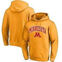 Fanatics Branded Minnesota Golden Gophers Campus Pullover Hoodie - Gold