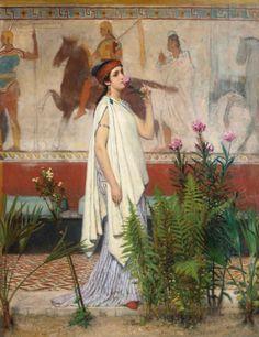 A Greek Woman...Sir Lawrence Alma-Tadema
