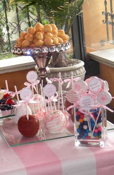 """Photo 3 of 15: Inspired by Juicy Couture / Baby Shower/Sip & See """"Claudia's Baby Shower"""" 