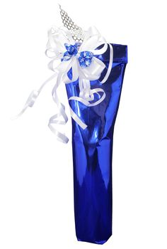 Introducing our glorious blue christmas packaging!  Choose from our selection of over 60 types of wines carried exclusively by us. Prices vary according to bottle chosen starting from $27 for a red wine. Visit www.bnuwines.com to see our entire selection.