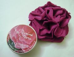 #Loccitane #Pivoine #Flora #Solid #Perfume #review #price and other details on the blog