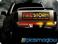 Light up your trucks tailgate with the ipcw led tailgate light bar firestorm scanning led tailgate light bar mozeypictures Image collections