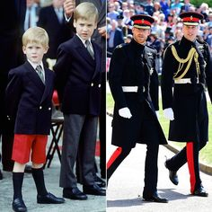 Prince William and Prince Harry Princess Diana Family, Princess Meghan, Princes Diana, Prince And Princess, Princess Charlotte, Prince Harry Et Meghan, Prince William And Harry, Prince Charles, Lady Diana