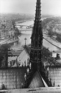 Henri Cartier-Bresson: View from the Towers of the Notre-Dame Cathedral