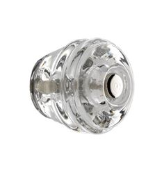 Beehive Glass Cabinet Knob Nickel-plated Bolt | Item #C5491 $5 ea, avail in clear and lt green