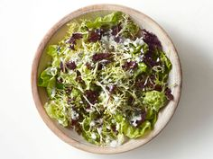 Salad With Blue Cheese Dressing from FoodNetwork.com