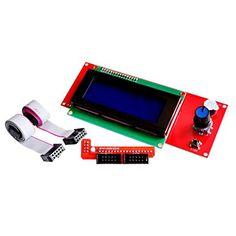 CJRSLRB® Smart Parts Controller Display For Reprap 3D Printer Arduino Mega Shield Ramps 1.4 2004 LCD 20 X 4  //Price: $ & FREE Shipping //    #car #motor #driver #sensor #carliker #racer #premiumcar #sportcar #automobile