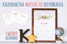 DIY Planer - organizer do wydrukowania | Piafka Brain Dump, Gallery Wall, Organization, Frame, Diy, Home Decor, Posters, Getting Organized, Picture Frame