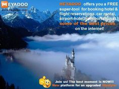 Heyadoo offers searches for accommodation, flights, transfers, transport packages, rental cars all a click away. Free registration to access the packages at promotional prices for Christmas and New Year! Flight Reservation, Car Rental, For Everyone, Marketing, All Over The World, Mount Everest, Transportation, In This Moment, Tools