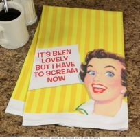 It Has Been Lovely Funny Kitchen Towel