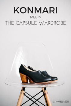 Ready to simplify your closet? Is your resolution for 2017 to create a minimalist wardrobe? Read what happens when KonMari meets the Capsule Wardrobe. Minimalist Closet, Minimalist Living, Minimalist Decor, Minimalist Fashion, Minimalist Style, Minimalist Bedroom, Capsule Wardrobe, Wardrobe Sets, Mom Wardrobe