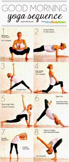 Good Morning Yoga Sequence | Medi Villas