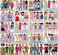 simblrccresources:  simblrccresources:  Toddler Clothing by Lillka. Sims3Pack and Package files included. Files have been compressorized! Bo...