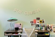 Victoria Pater's Mid Mod pins are adorable and her cheery home is bubbling with retro mod energy.