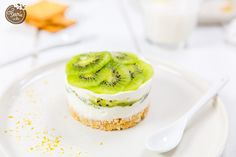 cheesecake sans cuisson au kiwi