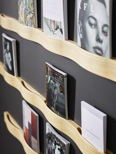 Buy online Svall By karl andersson, wooden magazine rack . Стойка для журналов