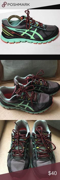 Women's ASIC shoes(size 9.5) Gently worn condition, no stains or tears. Smoke free home. Worn a handful of times, just need to clean out my closet 😊 Asics Shoes Athletic Shoes
