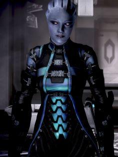 Mass Effect 3 Liara Skins, Rodrigue Pralier Mass Effect Characters, Mass Effect Games, Mass Effect Art, Sci Fi Characters, Mass Effect Humor, Mass Effect Romance, Space Fantasy, Final Fantasy, Mass Effect Universe