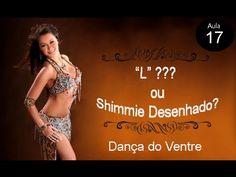 """Aula 17: """"L"""" ou Shimmie Desenhado??? Dança do Ventre para Iniciantes - YouTube"""
