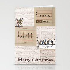 Christmas Card , artist illustration, music, medieval